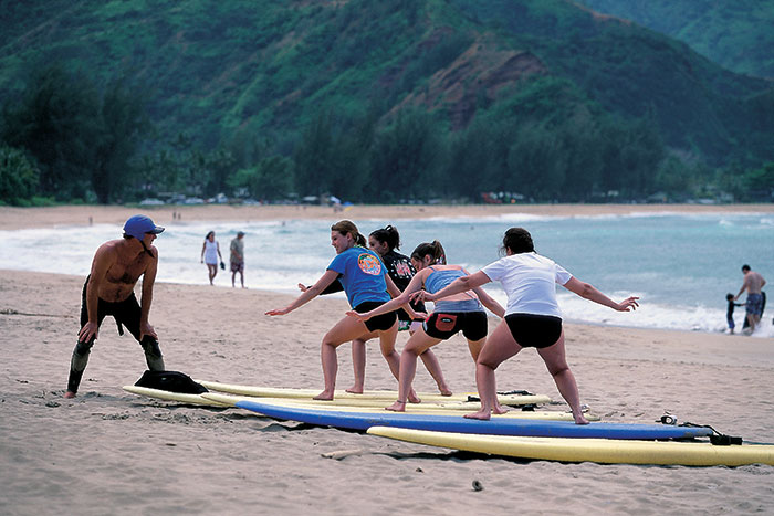 Surfing - Kauai Family Multi-Adventure Tour - Older Teens & 20s