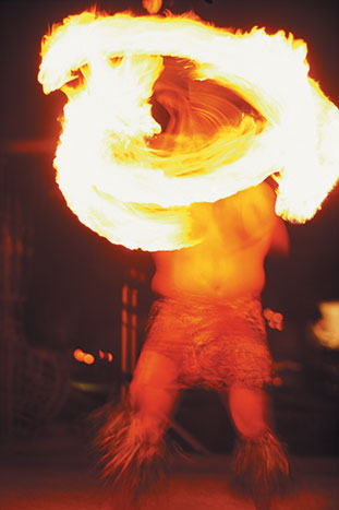 Hula Dancing With Flames, Kauai Family Multi-Adventure Tour - Teens & Kids