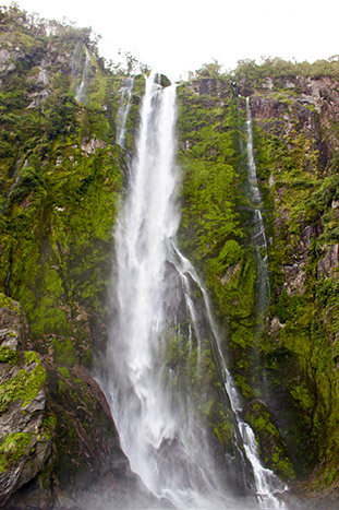 Waterfall - New Zealand Ocean Cruise Multi-Adventure Tour