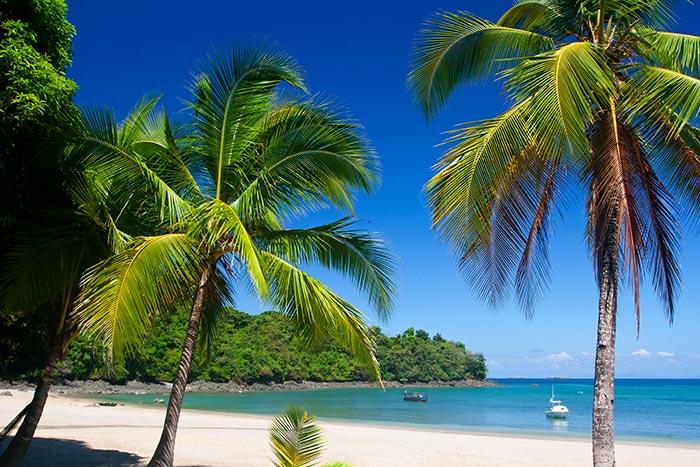 Beach on Backroads Costa Rica & Panama Ocean Cruise Family Multi-Adventure Tour