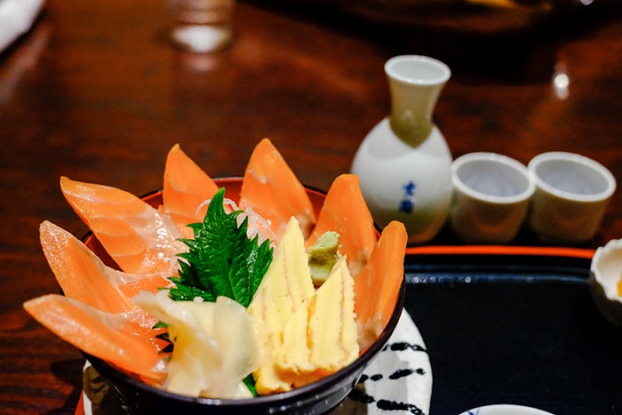 Japanese food and sake - Japan Ocean Cruise Walking & Hiking Tour
