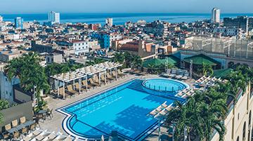 Hotel Parque Central, Cuba