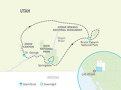 Zion Bike Tours | Biking Bryce Canyon National Park | Backroads