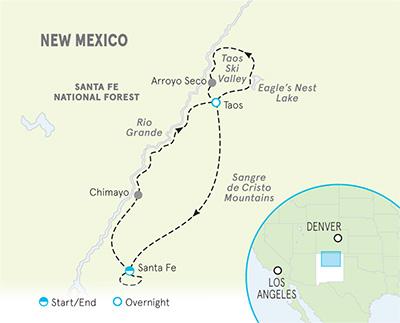 Santa Fe Bike Tours | Taos Bike Tours | New Mexico Bike Trips