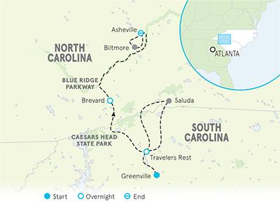 Biking The Blue Ridge Parkway | South Carolina Bike Tours ... on sunset beach sc map, charlottesville sc map, rockingham sc map, buncombe county sc map, matthews sc map, manchester sc map, asheville nc, statesville sc map, clayton sc map, cherry point sc map, maxton sc map, outer banks sc map, appalachian state university sc map, ocean isle sc map, rocky mount sc map, johnson city sc map, shelby sc map, mooresville sc map, holden beach sc map, harrisburg sc map,
