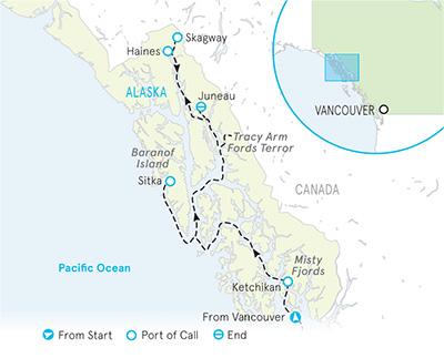 Alaska Cruise Multi-Adventure Tour | Inside Passage | Backroads