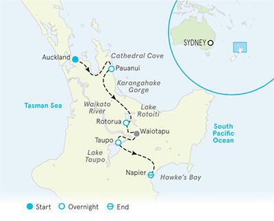 Napier New Zealand Map.Adventure New Zealand North Island New Zealand Biking Hiking