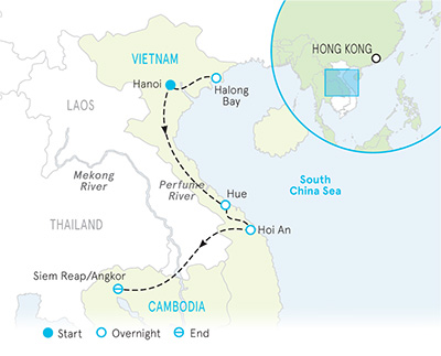 Vietnam Walking Tours   Cambodia Walking Tours   Backroads