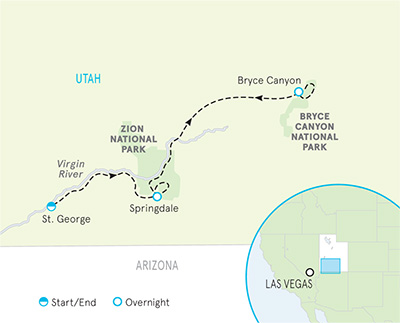 Utah Hiking Trips | Bryce Canyon & Zion Hiking Tours | Backroads