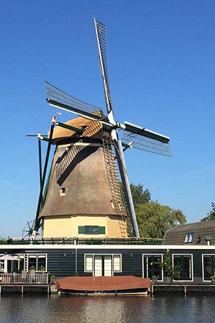 Windmill, Rhine River