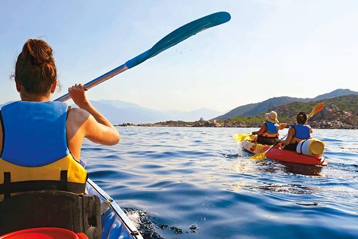 Kayaking - Sardinia & Corsica