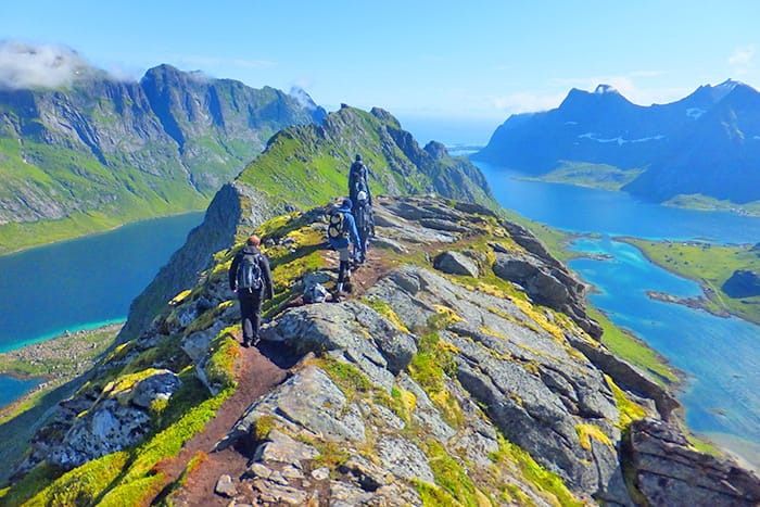 Norway's Lofoten Islands Family Walking & Hiking Tour - 20s & Beyond | Backroads