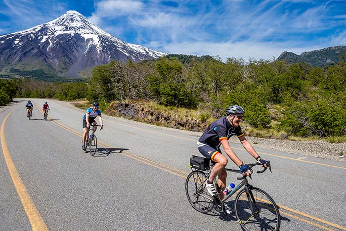 Biking in Chile