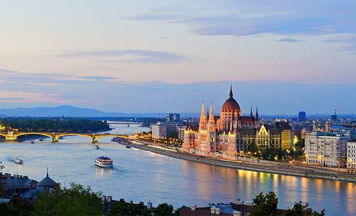 Danube River Cruise Full Ship Celebration Bike Tour