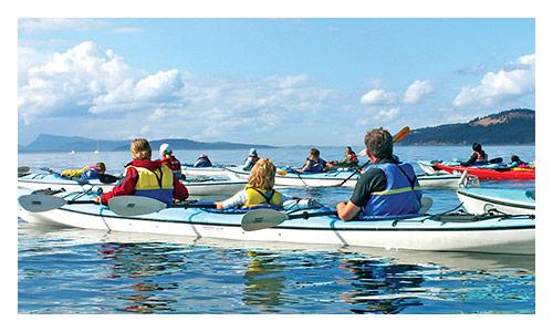 San Juan Islands Family Multisport Tours