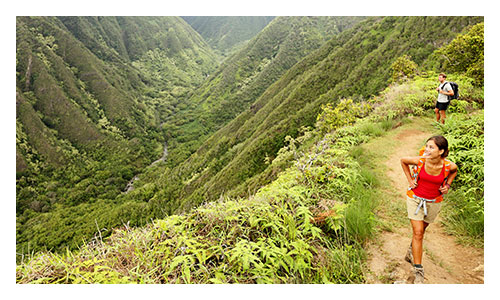 Maui and Lanai Family Walking and Hiking Tour