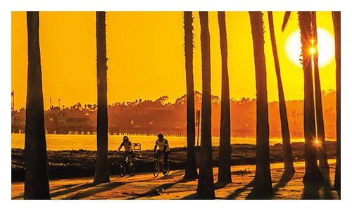 Santa Barbara and Ojai Valley Family Bike Tour