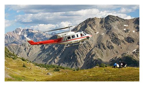 Canadian Rockies Heli-Hiking Tour