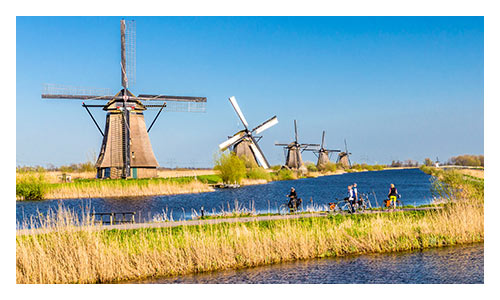 Holland and Belgium Family Bike Tours
