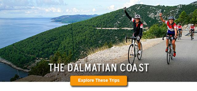 Dalmatian Coast Biking, Walking/Hiking and Multisport Trips
