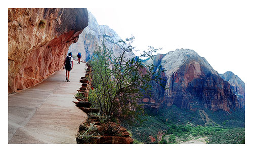 Bryce and Zion Walking and Hiking Tours