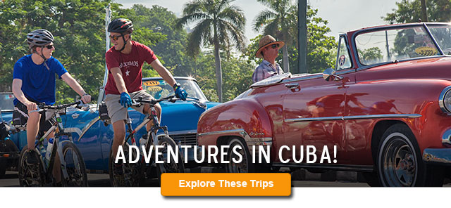 Backroads Cuba Biking and Hiking Tours