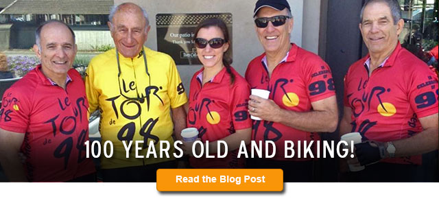 100 Years Old and Biking!