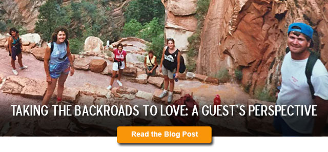 Taking the Backroads to Love: A Guest's Perspective