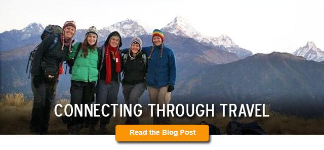 Connecting Through Travel Blog Post