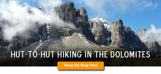 Hut-to-Hut Hiking in the Dolomites