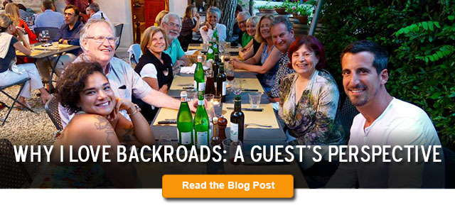 Why I Love Backroads: A Guest's Perspective